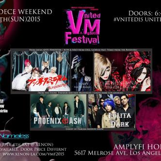 Vnited Music Festival -Feat. Indies Bands from Japan & U.S.-img