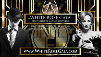 White Rose Gala  NYE Party Denver - 14th Annual