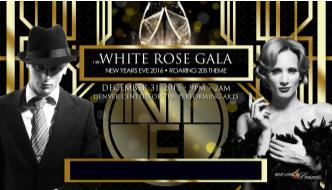 White Rose Gala  NYE Party Denver - 14th Annual