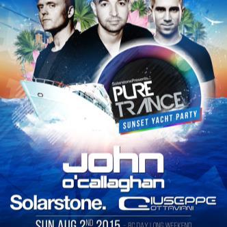 PURE TRANCE SUNSET YACHT PARTY