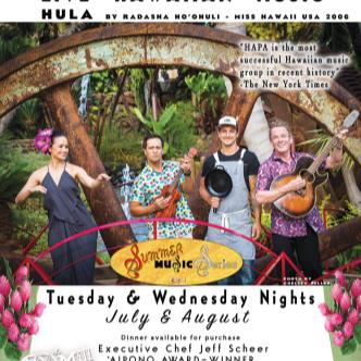 HAPA - Summer Music Series - August 5, 2015-img