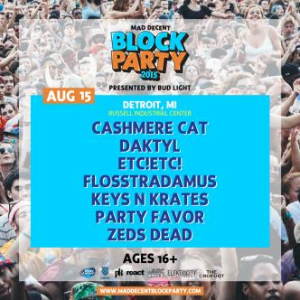 Mad Decent Block Party Detroit 2015