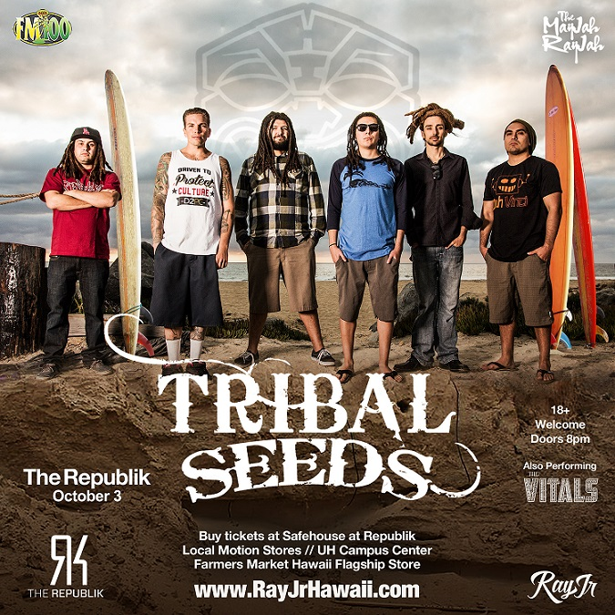 Tribal Seeds Tickets 10/03/15