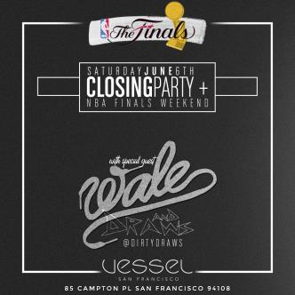 Wale live at the Grand Finale of Vessel San Francisco: Main Image
