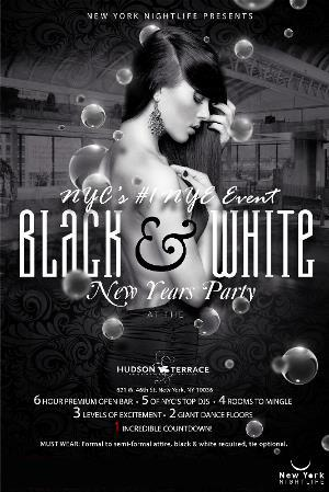 New York New Years Eve 2016 - A Black & White Affair