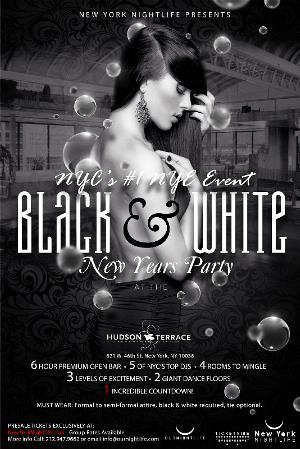 New York New Years Eve 2016 - A Black & White Affair