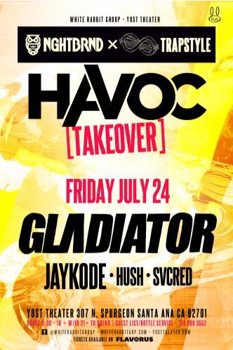 Havoc [Special Event] ft. Gladiator (18+): Main Image