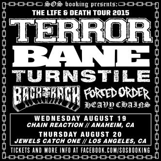 THE LIFE & DEATH TOUR - TERROR, BANE, TURNSTILE-img