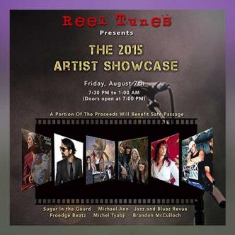Reel Tunes Presents the 2015 Artist Showcase: Main Image