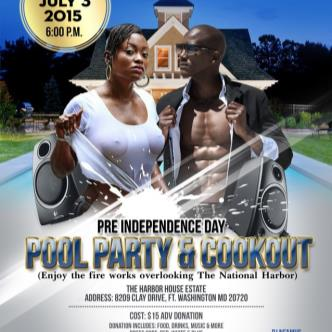 Pre Independence Day Cookout & Pool Party-img