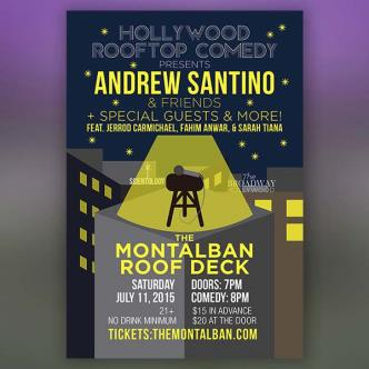 Andrew Santino & Friends + Special Guests and More: Main Image