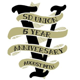 SD UNION 5yr Anniversary - Present By: United By Bass: Main Image