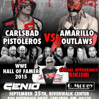 TL Wrestling: Carlsbad Pistoleros vs Amarillo Outlaws-img