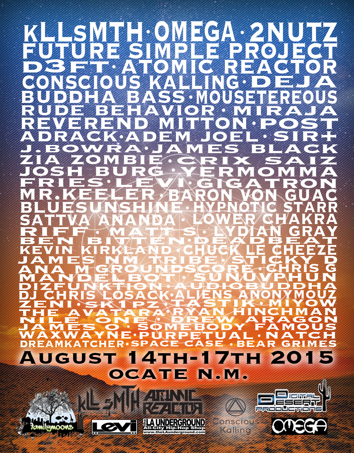 Buy Tickets to DigiDesert Nine Year, The O Music Festival in