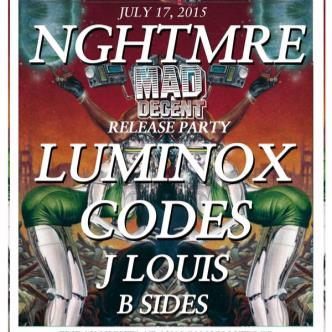 NGHTMRE, Luminox, Codes-img