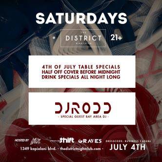 Saturdays at the District-img