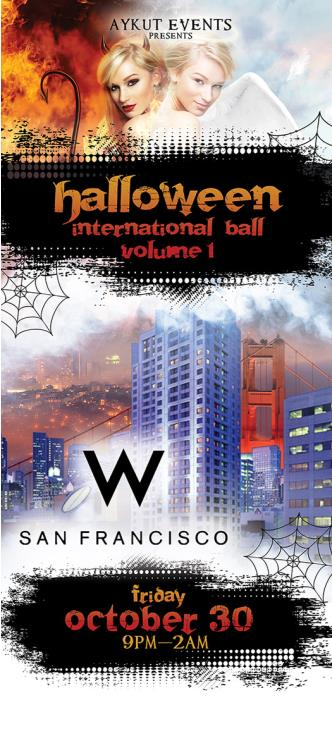 W HOTEL HALLOWEEN INTERNATIONAL BALL
