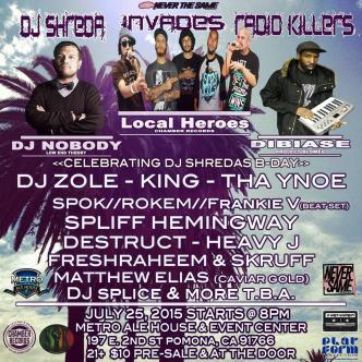 DJ Shreda Invades Radio Killers-img