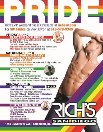 Rich's Pride 2015: Main Image