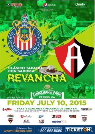 CHIVAS GUADALAJARA VS CLUB ATLAS: Main Image