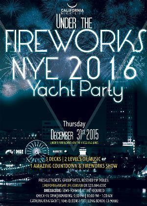 Long Beach Fireworks New Year Eve Cruise