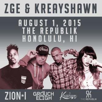Zion I Grouch&Eligh Kreayshawn: