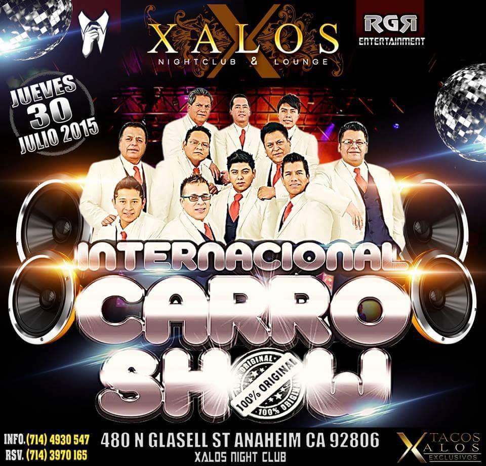 Boletos Para Internacional Carro Show En Xalos Super Night