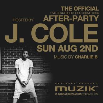 THE OFFICIAL OVO AFTERPARTY  HOSTED BY J.COLE