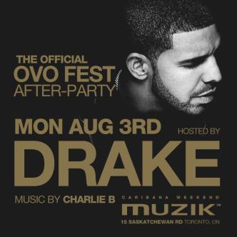 THE OFFICIAL OVO FEST AFTERPARTY  HOSTED BY DRAKE