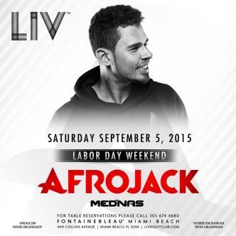 Afrojack LIV: Main Image