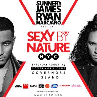 SEXY BY NATURE NYC w/ SUNNERY JAMES & RYAN MARCIANO-img
