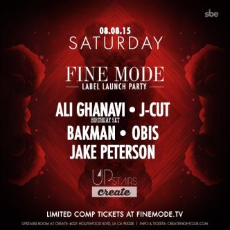 FINE MODE LABEL LAUNCH PARTY - UPSTAIRS AT CREATE NIGHTCLUB-img