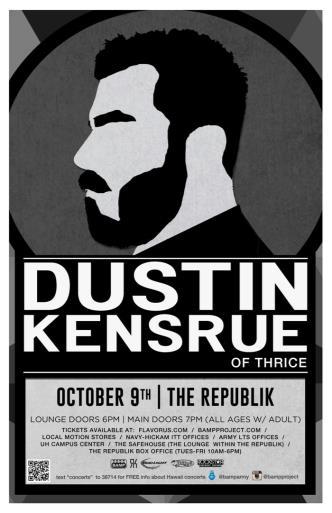 Dustin Kensrue: