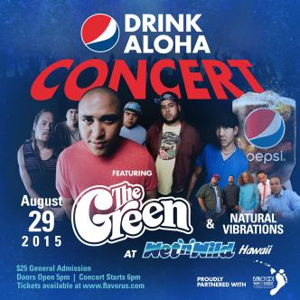 Drink Aloha Concert Feat. The Green and Natural Vibrations-img