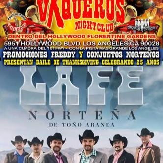 LA FE NORTENA @ VAQUEROS NIGHT CLUB DE HOLLYWOOD-img