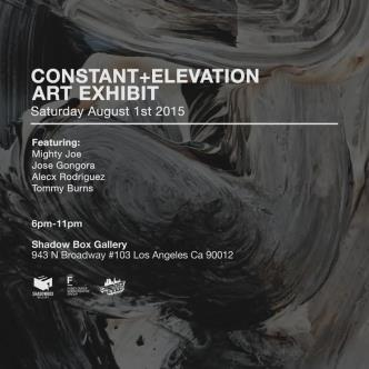 CONSTANT + ELEVATION (FREE ART SHOW)-img