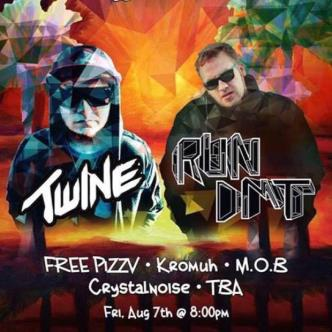 Twine of Firepower Records + Run Dmt @ Abbey Pub!-img