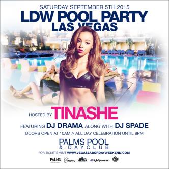 Labor Day Weekend at Palms Pool Las Vegas with Tinashe-img