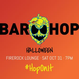 BAR HOP Whistler October 31