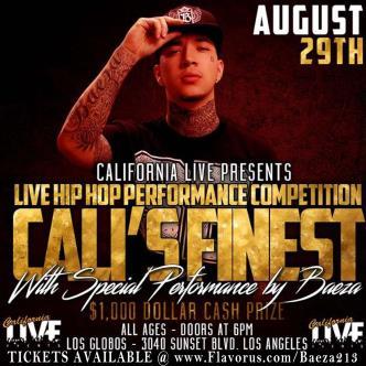 BAEZA live, LOS ANGELES-img