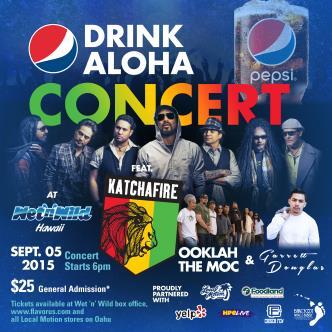 Drink Aloha Concert Feat. Katchafire and Garrett Douglas-img