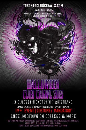 Halloween Club/Pub Crawl 2015