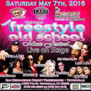 High desert Freestyle and Old School Music Festival-img
