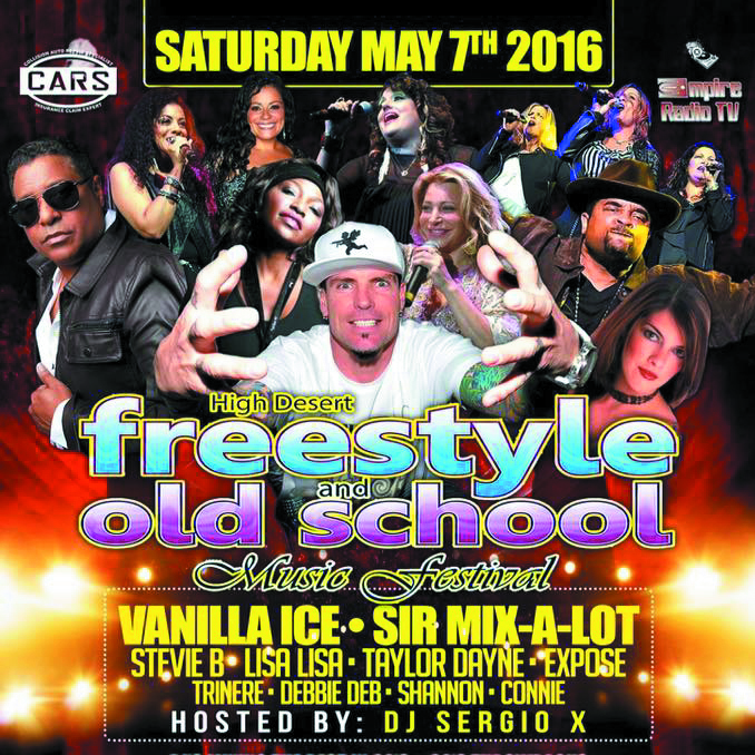 High desert Freestyle and Old School Music Festival Tickets