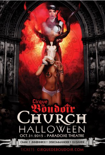 Cirque De Boudoir CHURCH Halloween 2015