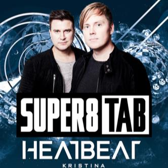 Super 8 & Tab, Heatbeat, Kristina Sky-img