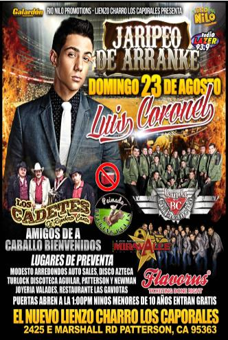 jaripeo de arranke Tickets 08/23/15