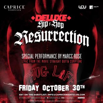 Deluxe Fridays presents The Halloween Resurrection