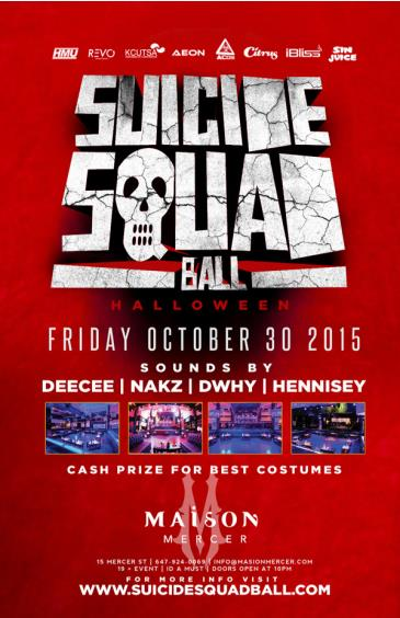 Suicide Squad Ball Halloween