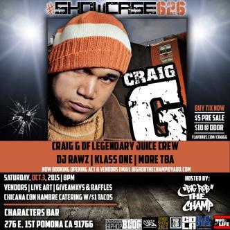 Craig G of Juice Crew at #Showcase626-img